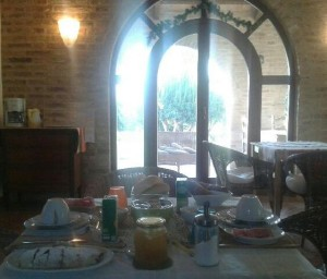 "Breakfast Club at the ""house among the olive trees"" www.lacasatragliulivi.com"