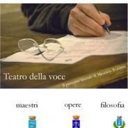 """B&B Italy MARCHE """"lacasatragliulivi"""" consiglia: """"Teatro della voce"""" 21/12/12 Montecassiamo 22/12/12 Muccia – MARCHE – raggiungici!!!"""