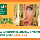 Pernottamento al b&b la casa tra gli ulivi a Civitanova e poi la GIORNATA DEL FAI  DI PRIMAVERA nelle MARCHE dal 23 al 24 marzo 2013