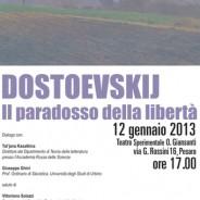 """Il B&B Italy MARCHE """"la casa tra gli ulivi"""" consiglia il pernottamento a Civitanova Marche alla casatragliulivi e poi…:  Dostoevskij. Il paradosso della libertà"""